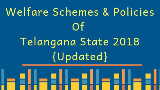 Policies Of Telangana State