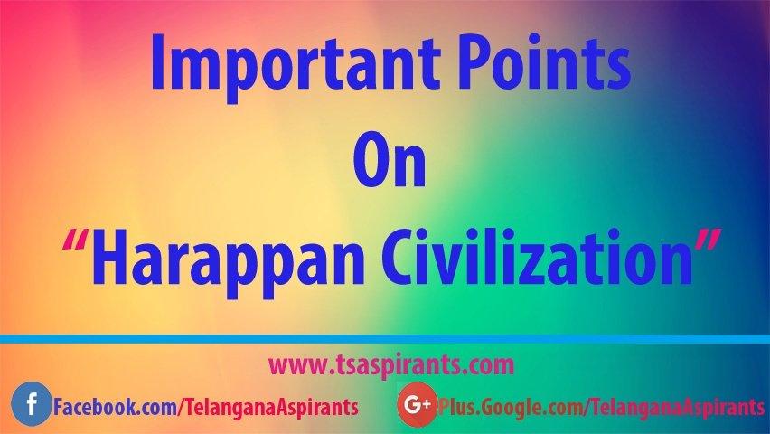 Harappa civilization Features