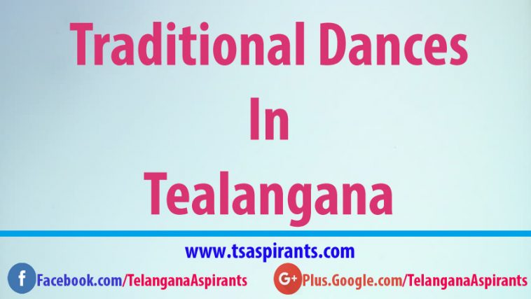 Telangana famous Dance forms