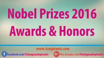 Noble Prizes 2016
