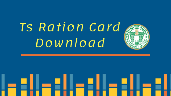ts ration card download