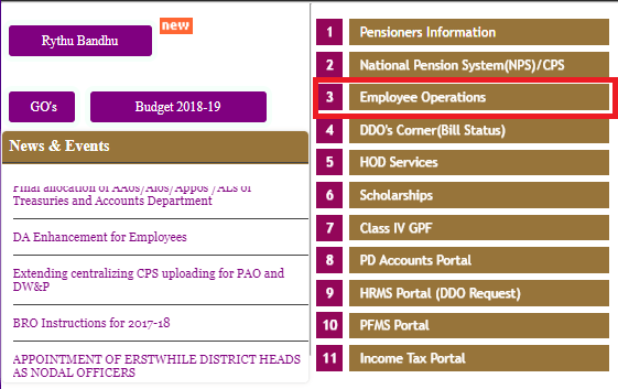 Download TS Employee Payslip Details | TS Salary Slips Excel